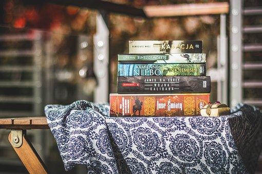 Ksiażka, Book, Pile, Literature, Education, Reading