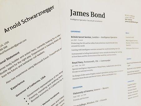 Cv, Resume, Job, Employment, Business, Recruitment