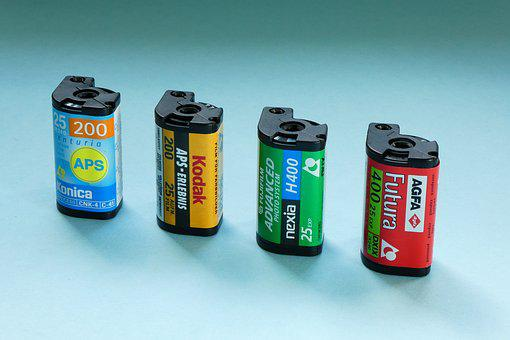 Photo, Film, Aps, Film Cassette, Aps Format