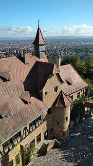 Bamberg, Altenburg, Panorama, Castle, Bavaria, Germany