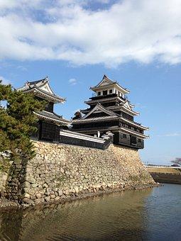 Nakatsu Castle, Castle, Ishigaki, Stone, Old, Wall