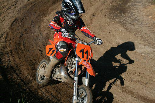 Motocross, Race, Cross, Fun, Competition, Motor