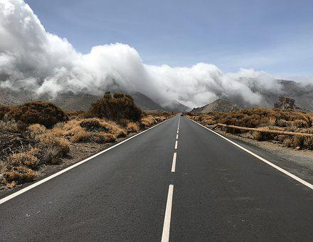 Tenerife, Road, Mountains, Canary Islands