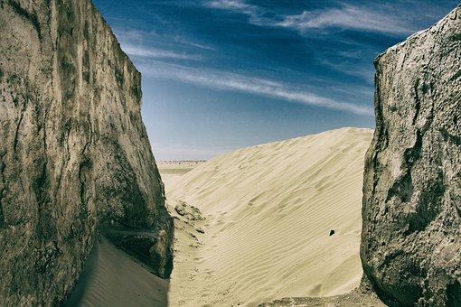 Sahara, Desert, Sand, Hot, Landscape, Duna, Nature