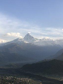 Annapurna, Nepal, Himalayas, Mountain, Rock, Trekking