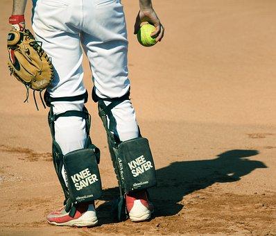 Sport, Baseball, Softball, Player, Catcher, Game
