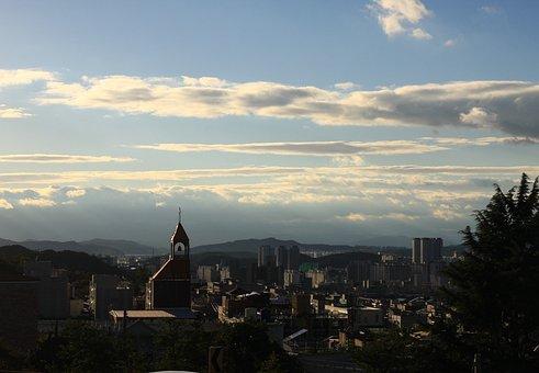 Sky, Architecture, Landscape, Tower, Cbd