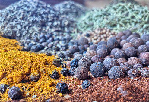 Spices, Kitchen, Cooking, Tastes, Colors, Macro