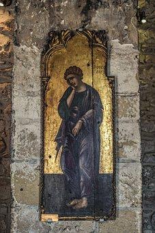 Icon, Wooden, Byzantine, Church, Religion, Orthodox, St