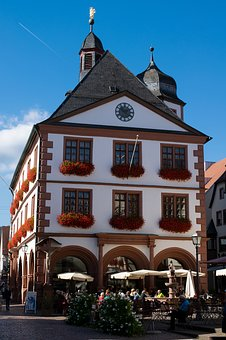 Old Town Hall, Town Hall, Architecture, Beer Garden