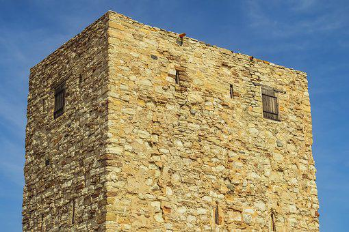 Cyprus, Alaminos, Tower, Architecture, Traditional