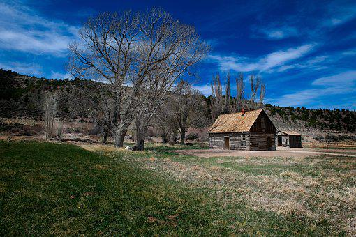 Butch Cassidy Home, Cabin, Utah