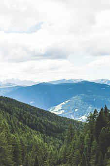 Mountain, View, Alpine, Landscape, Nature, Panorama