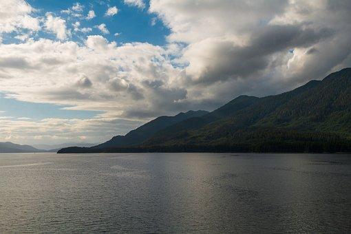 Usa, Alaska, Mountains, Mountain Landscape, America