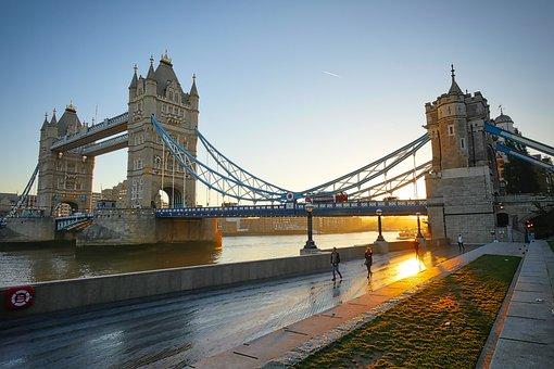 London, Tower Bridge, England, Bridge, United Kingdom