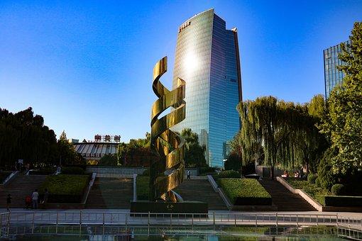 Zhongguancun, Life, Modern Sculpture, Building