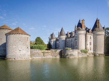 Bourg-archambault, Castle, Medieval, Renaissance