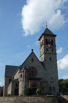 Church, Germany, Bergisches Land, Religion, Catholic
