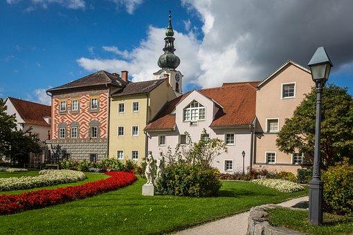 Wels, City Of Wels, Austria, People's Garden