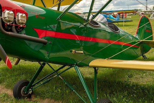 Aircraft, Vintage, Old, Classic, Aviation, Retro, Plane