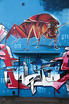 Graffiti, Subculture, Spray, Sprayer, Art, Color
