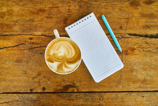 Coffee, Note, Notebook, Pen, The Work, Course, Office