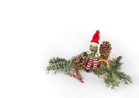 Christmas Decorations, Close-up, Decorations, Doll