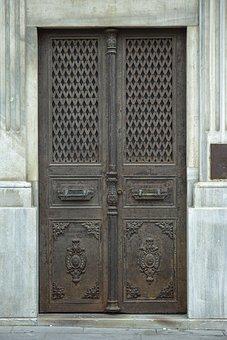 Door, Daniel, Old, Building, Street, Retro, Key