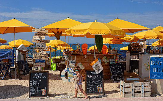 Bar, Beach, Exotic, Holiday, Sand, Cocktail, Beverages