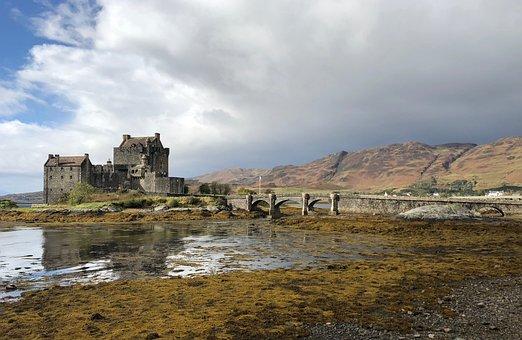 Castle, Scotland, Landmark, Fortress, Famous, Landscape