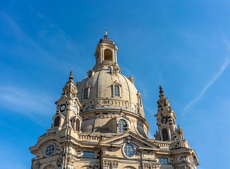 Frauenkirche, Dresden, Architecture, Building, Germany