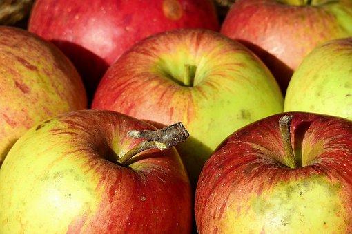 Apples, Vitamins, Fruit, Mature, Fresh, Healthy