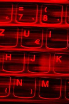 Illuminated Keyboard, Logo, Computer, Hardware