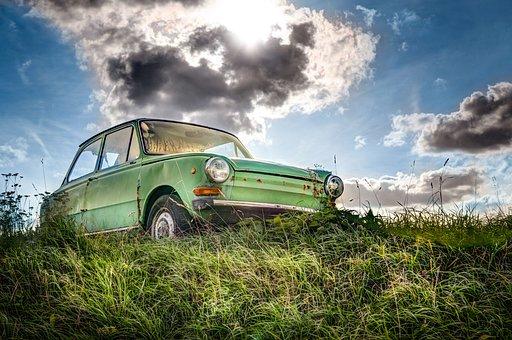 Daf, Car, Dutch, Hdr, Oldtimer, Automotive, Hobby