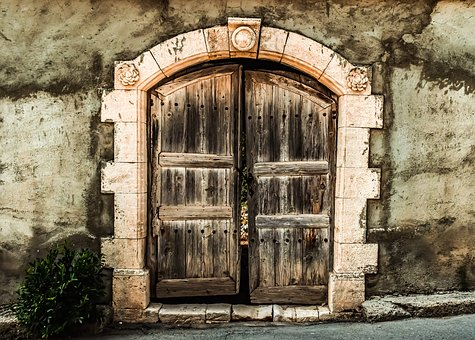 Door, Old, Entrance, Wood, House, Architecture