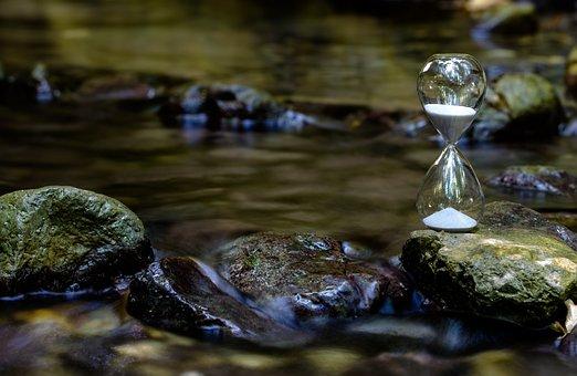 Year, Flow, Visualization, Imagination, Hourglass