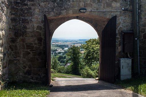 Castle, Goal, Fortress, Passage, Gate, Middle Ages