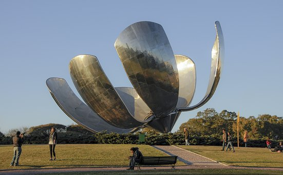 Argentina, Buenos, Aires, Monument, Street, Culture