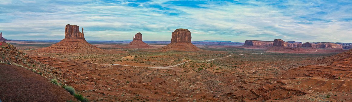 Monument Valley, Utah, Arizona, Usa, Landscape
