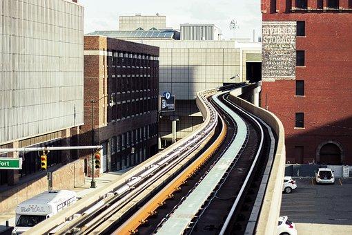 Train Tracks, Detroit, Motor City, Lane