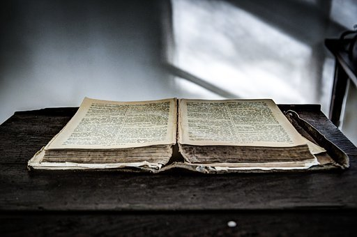 Open, Bible, Letters, Book, Reading, Literature