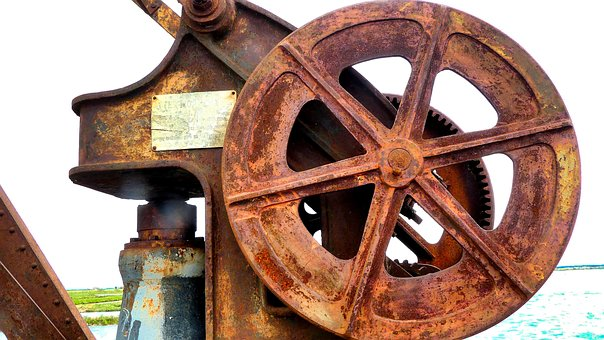 Machine, Old, Rust, Metal, Antique, Technology