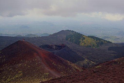 Volcano, Etna, Lava, Sicily, Italy, Nature, Rash