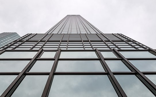 Skyscraper, Frankfurt, Tall, City, Skyline