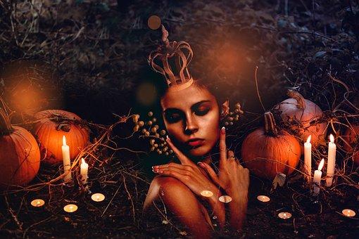 Halloween, Spirit, Ghost, Creepy, Left, Spooky, Mystic