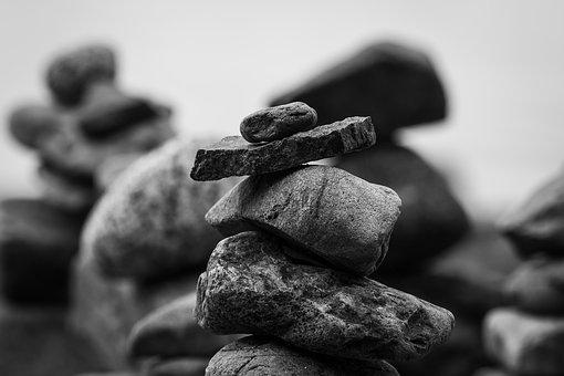 Stones, Stone Tower, Rock, Balance, Stacked, Stack