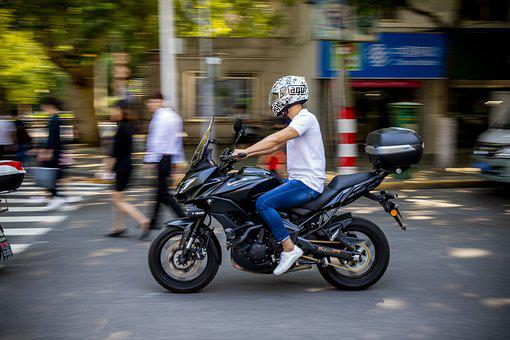 Motor, Chase, Judicator, Summer, Outdoor, Move, Biker