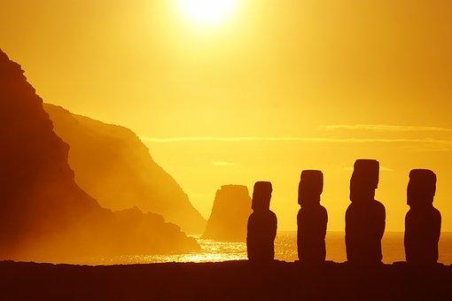 Easter Island, Rapa Nui, Sculpture, Travel, Moai, Mohai