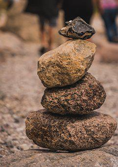 Stones, Vacations, Landscape, Water, Sea, Beach, Summer