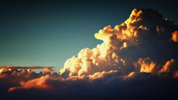 Clouds, Sky, Weather, Landscape, Sunset, Atmosphere